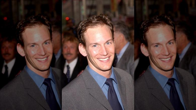 Patrick Wilson smiler mot kameraet