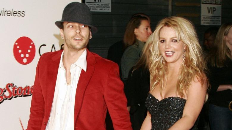 Kevin Federline og Britney Spears på en prisutstilling