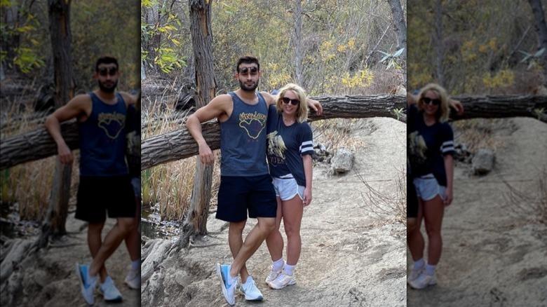 Britney Spears og Sam Asghari på tursti