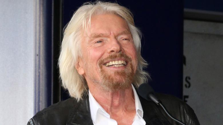 Richard Branson snakket i 2018