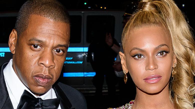 Beyonce og Jay Z på et arrangement