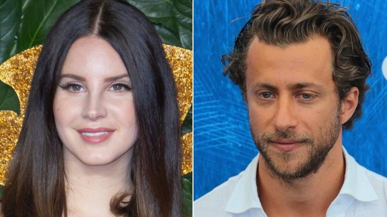 Lana Del Rey og Francesco Carrozzini på separate arrangementer