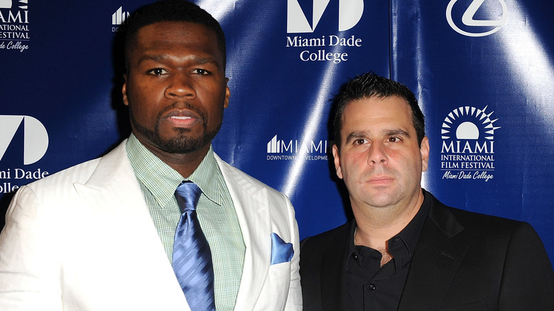 50 Cent og Randall Emmett i 2011