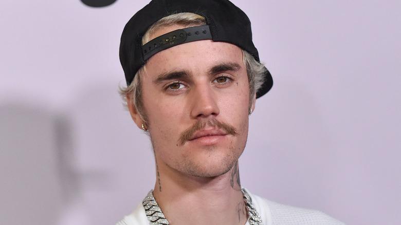Justin Bieber med bart