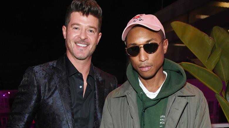 Pharrell Williams og Robin Thicke