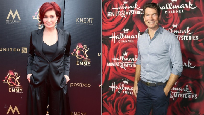 Sharon Osbourne (R), Jerry O'Connell (L)