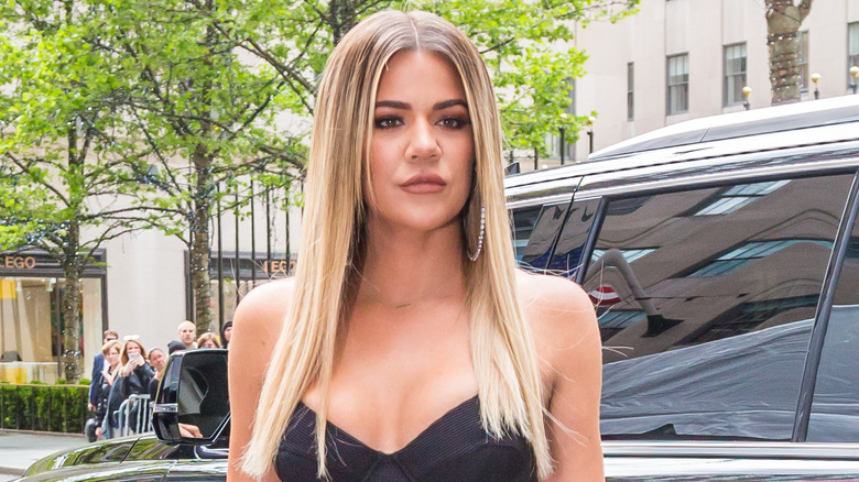 Khloé Kardashian ser tyst ut
