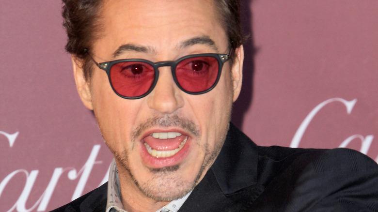 Robert Downey Jr. ankommer Palm Springs Film Festival Awards 2015
