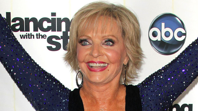Florence Henderson som promoterer Dancing with the Stars