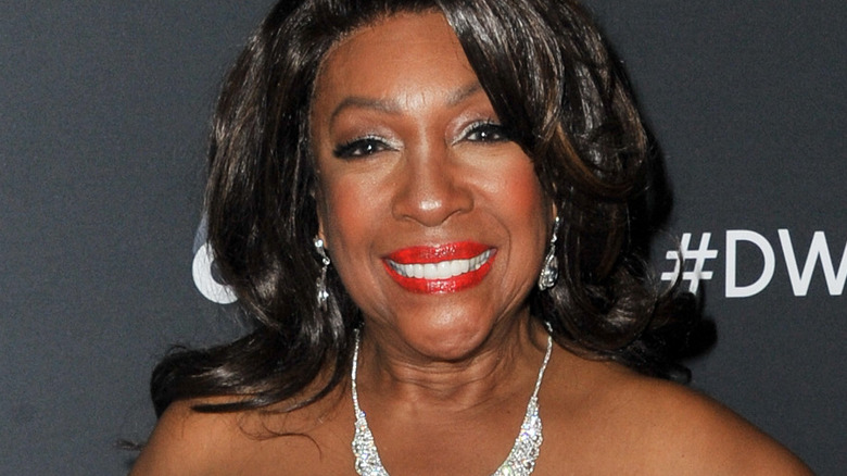 Mary Wilson som promoterer Dancing with the Stars