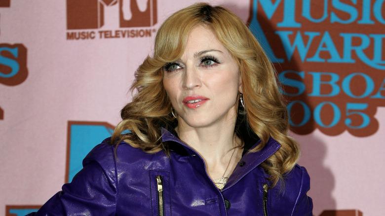 Madonna på en prisutstilling
