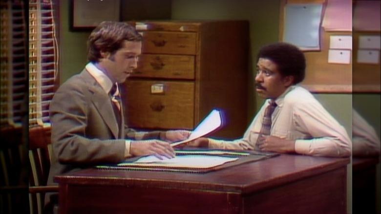 Chevy Chase og Richard Pryor på SNL