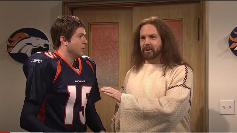 Jason Sudeikis og Taran Killam på SNL