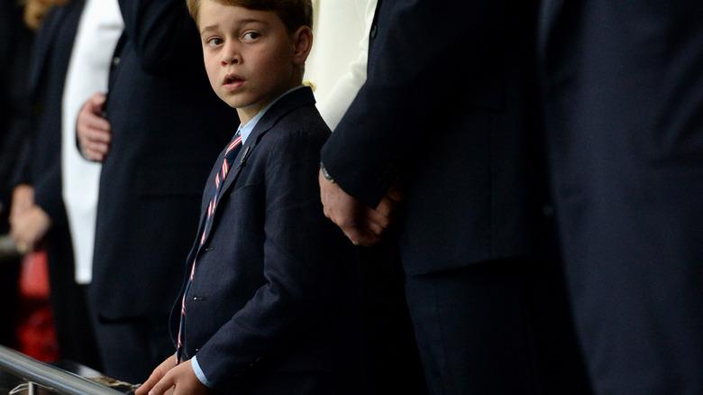Prins George Wembley-drakt