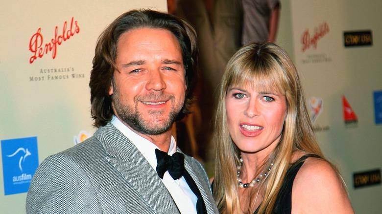 Russell Crowe, Terri Irwin, 2007