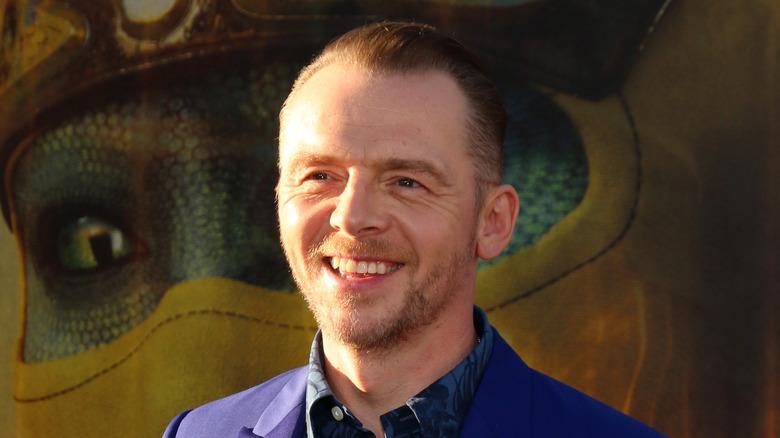 Simon Pegg smiler