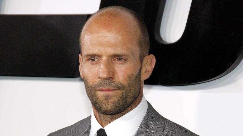 Jason Statham, halvt smil