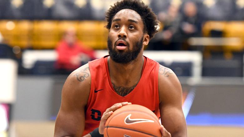Josh Cunningham, spiller basketball i 2019