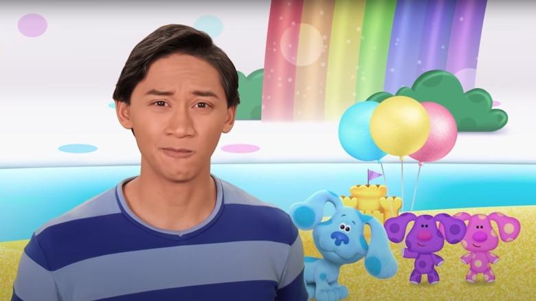 Josh Dela Cruz og regnbue