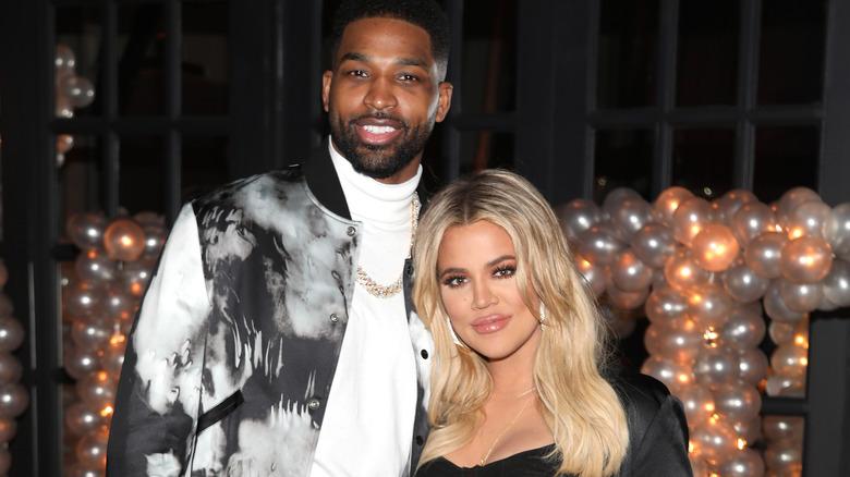 Khloe Kardashian stiller med Tristan Thompson