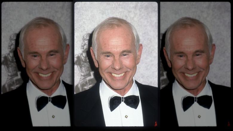 Johnny Carson smiler