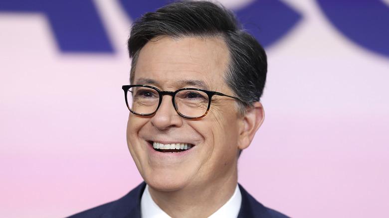 Stephen Colbert smiler