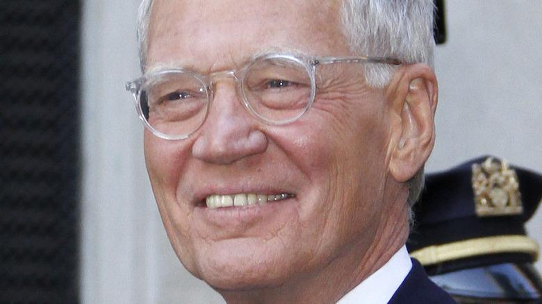 David Letterman smiler
