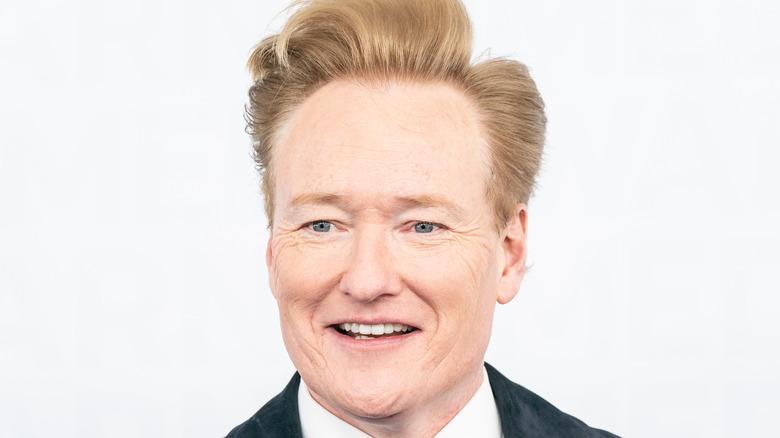 Conan O'Brien smiler