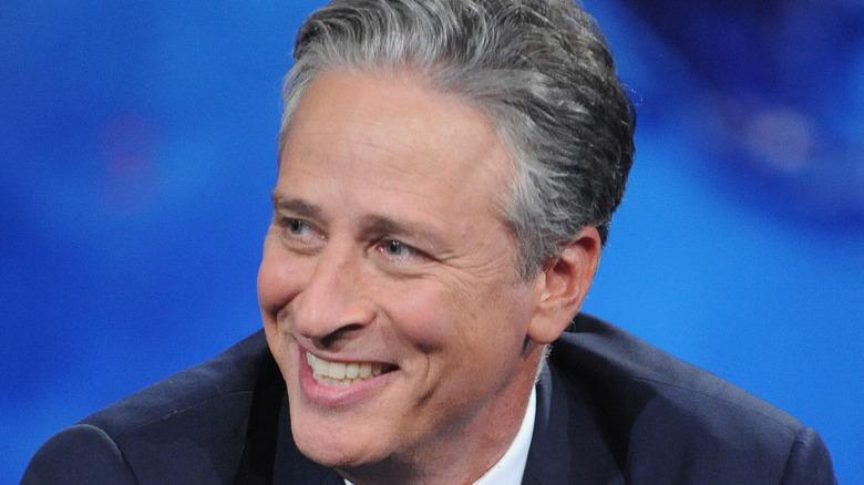Jon Stewart smiler