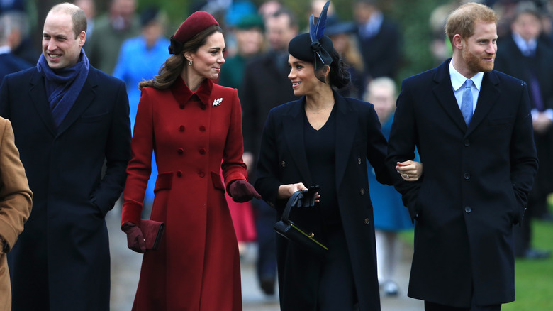Prins William, Kate Middleton, Meghan Markle, prins Harry rusler