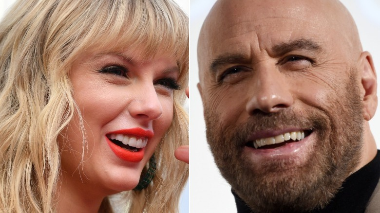 Taylor Swift ler, John Travolta ler