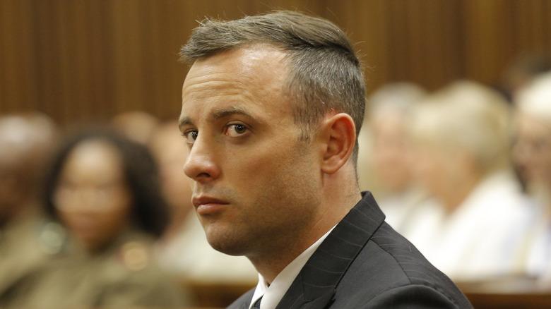 Oscar Pistorius i retten under drapsretten