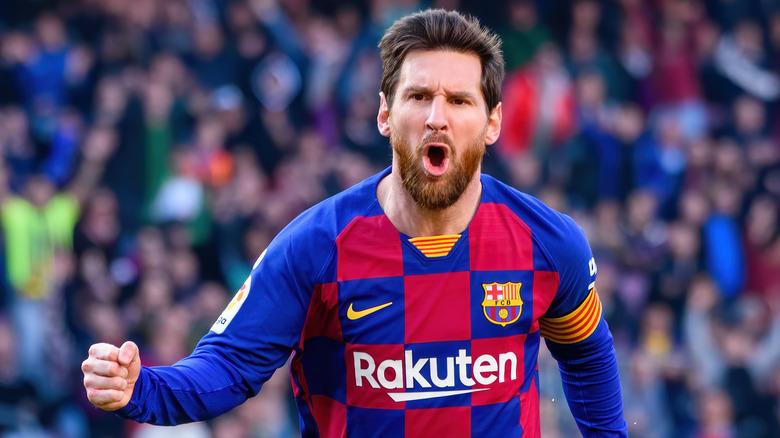 Lionel Messi pumper knyttneven