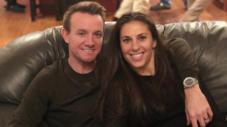 Carli Lloyd og Brian Hollins