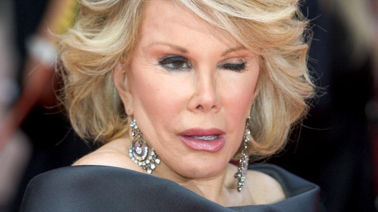 Joan Rivers blinker
