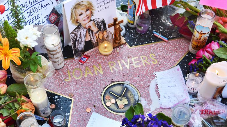 Joan Rivers Walk of Fame-stjerne