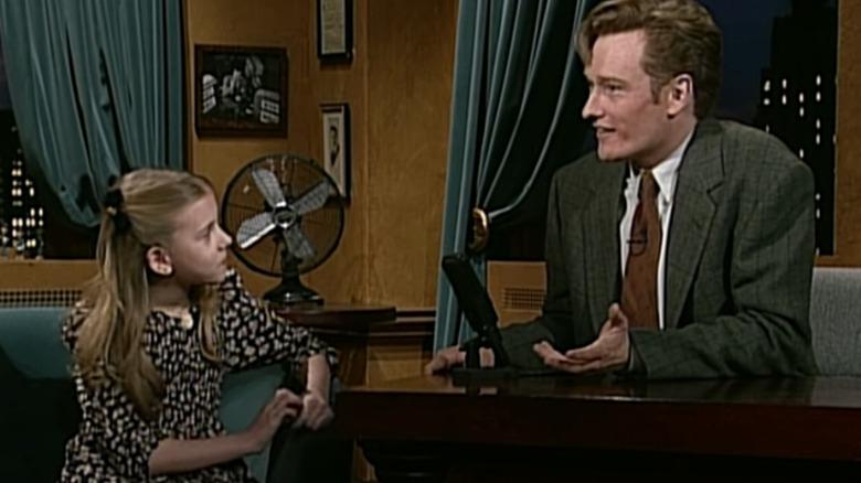 Scarlett Johansson og Conan O'Brien