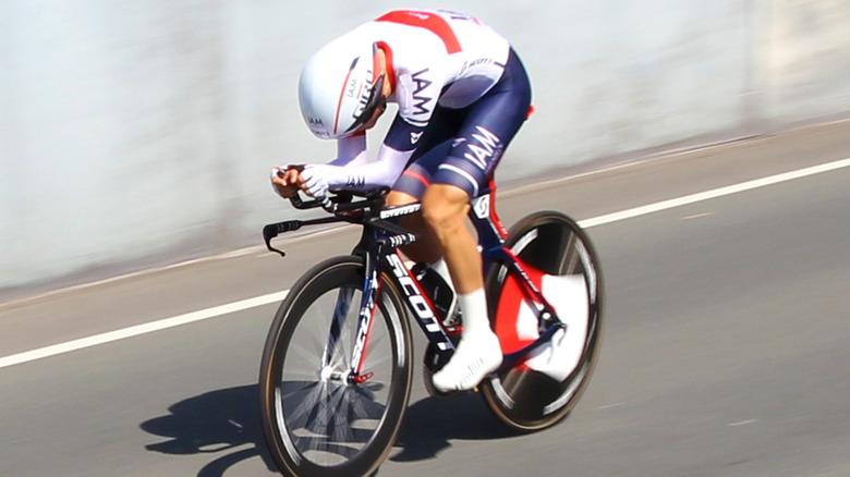 Stefan Denifl sykler
