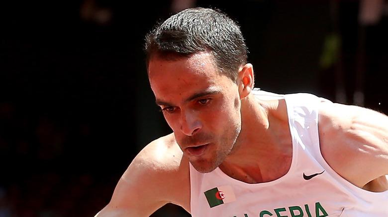 Hicham Bouaouiche løper