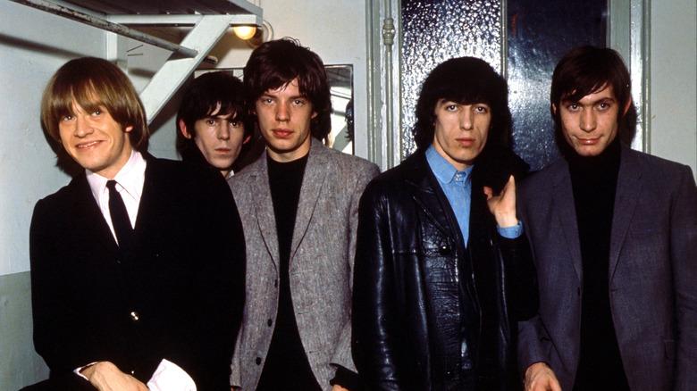Brian Jones, Keith Richards, Mick Jagger, Bill Wyman og Charlie Watts