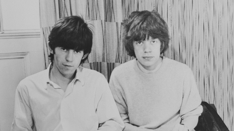 Mick Jagger og Keith Richards