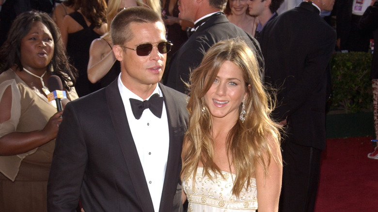 Jennifer Aniston og Brad Pitt røde løperen