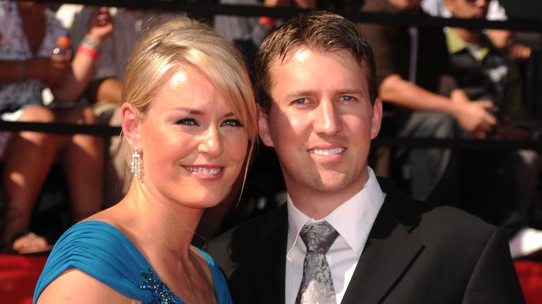 Lindsey Vonn og Thomas Vonn smiler