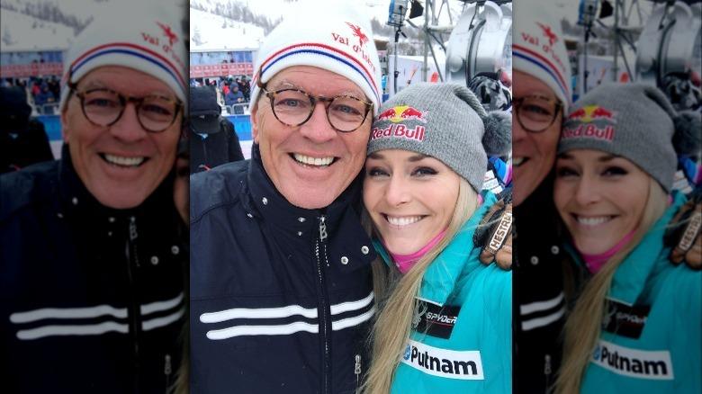 Alan Kildow og Lindsey Vonn tar en selfie