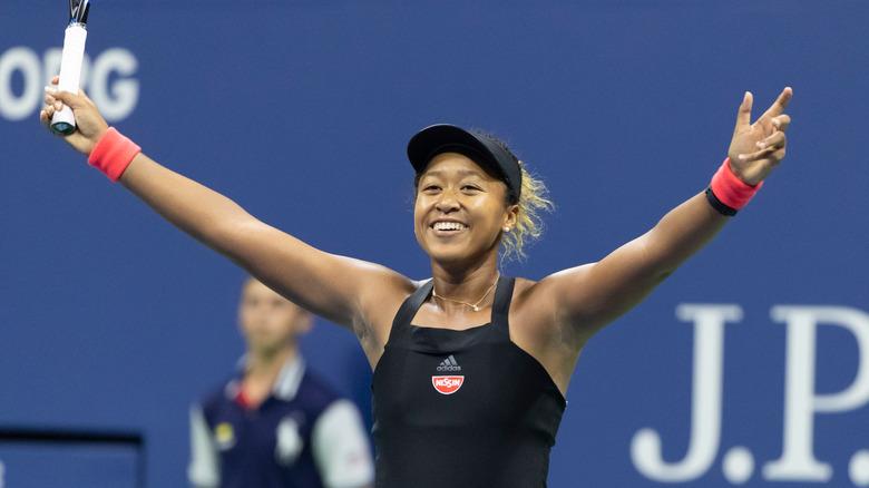Naomi Osaka på US Open i 2018