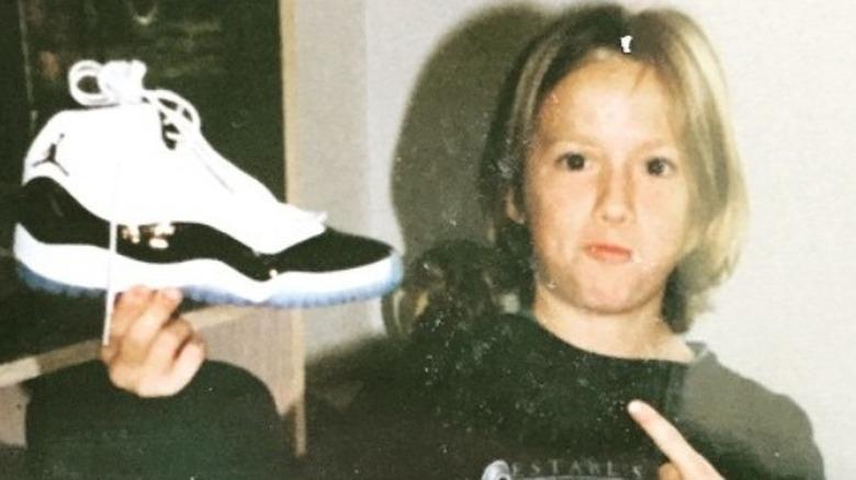 Megan Rapinoe før tenåring Nike
