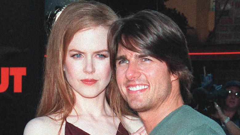 Nicole Kidman og Tom Cruise på et arrangement