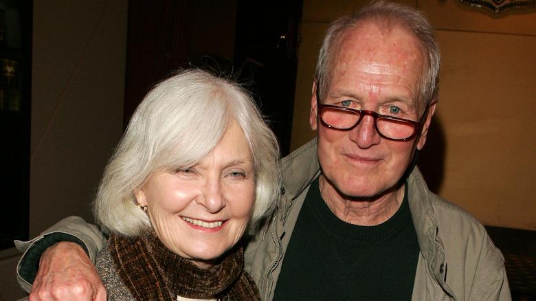 Joanne Woodward og Paul Newman på et arrangement