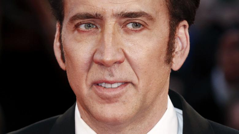 Nicolas Cage på den røde løperen