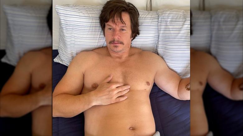 """Mark Wahlberg etter å ha gått opp i vekt for """"Stu"""""""